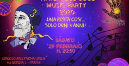 Save the date: sabato 29/2/2019 – Waterpolo Soul Music Party